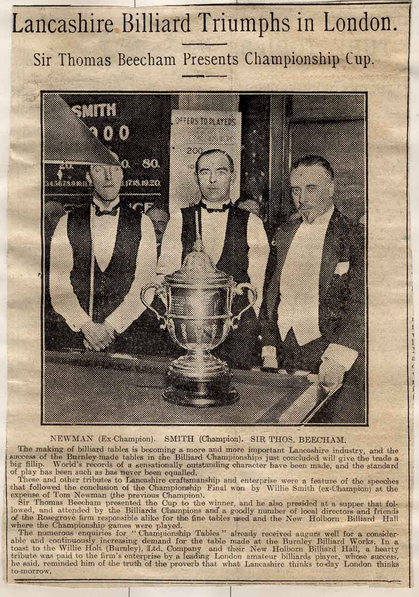 1923 Sir Thomas Beecham Presents the Cup
